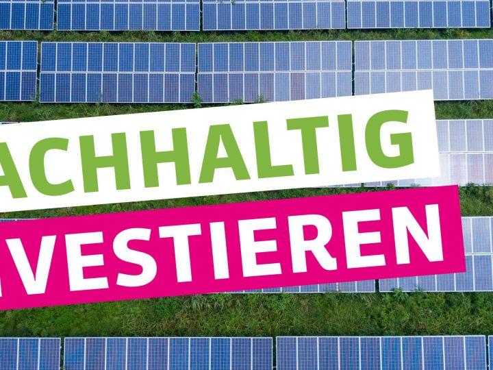 """Votum """"Nachhaltig Investieren"""""""